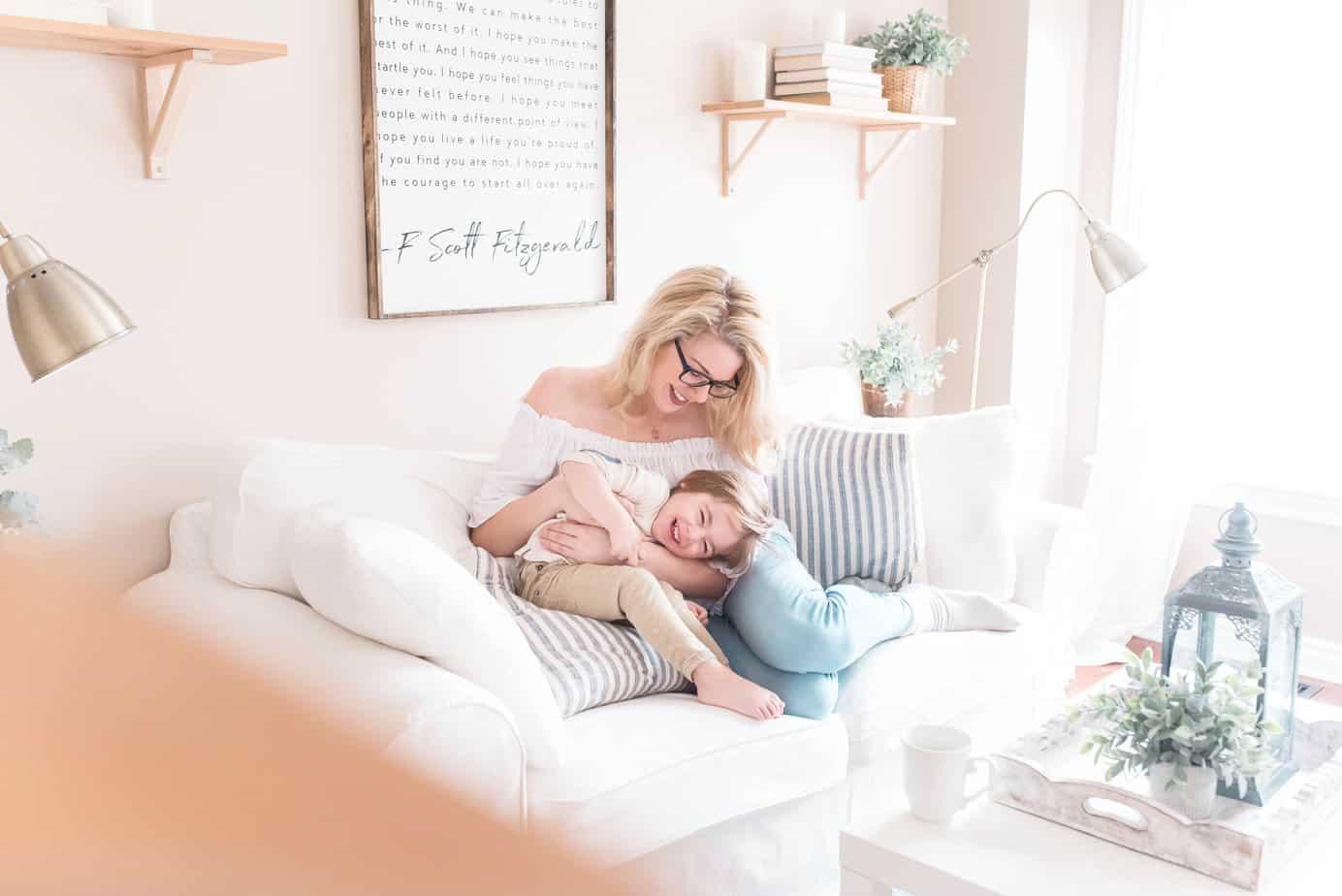 minimalist family tips