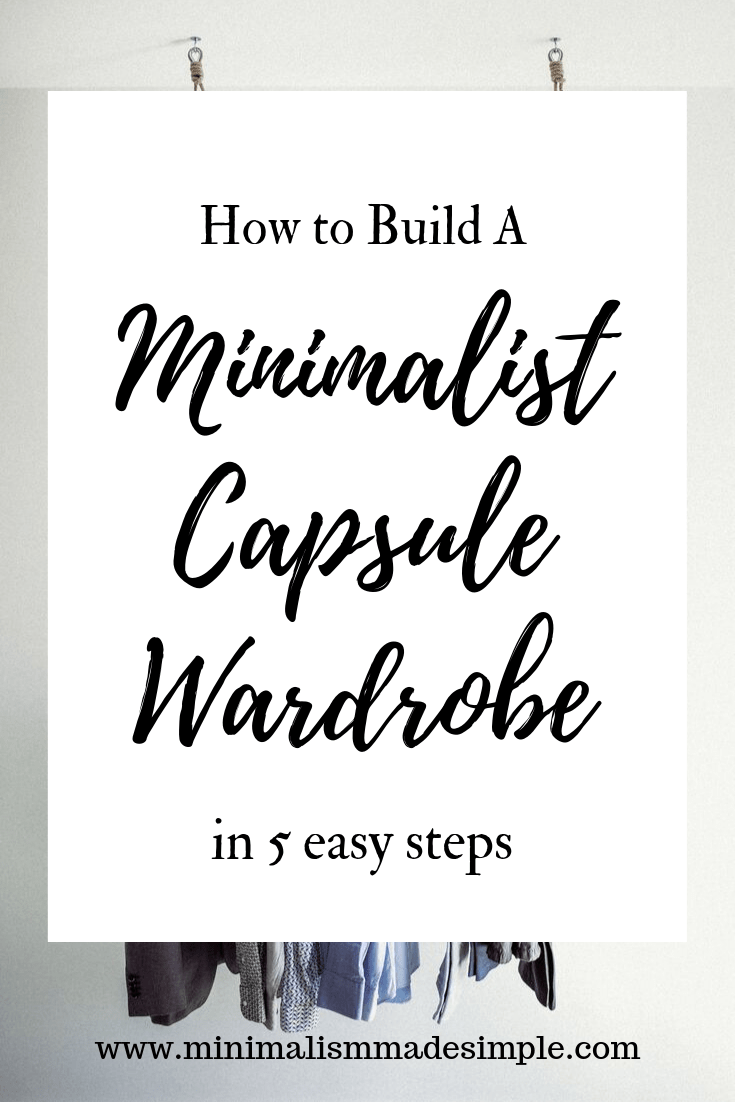 build minimalist capsule wardrobe