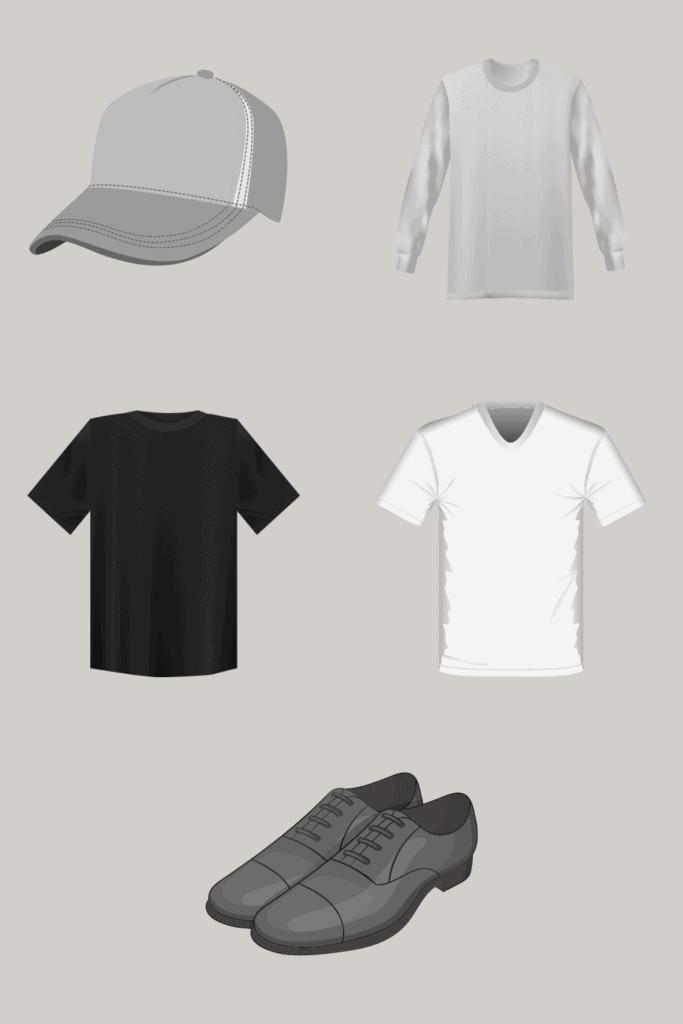 mens minimalist wardrobe