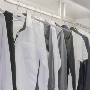 a mans minimalist wardrobe