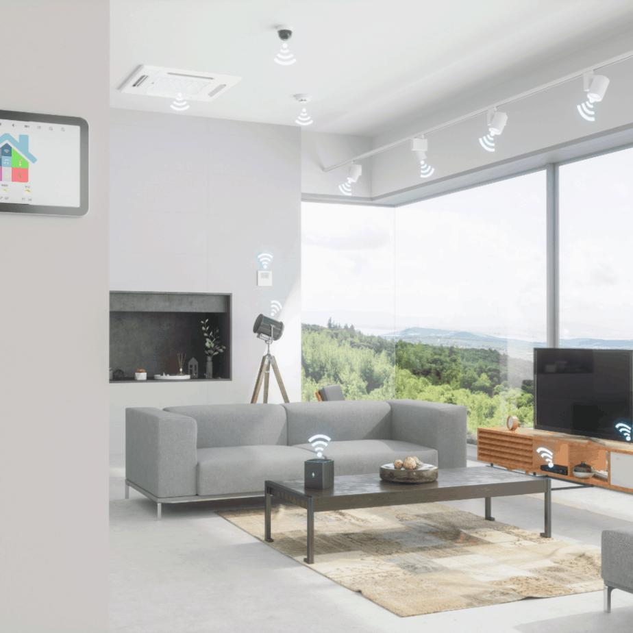 minimalist design smarthome